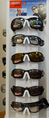 Mansfield Vision Center carries a full line of Protective Sunglasses Frames for all sports