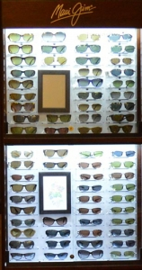 Mansfield Vision Center has the largest selection of Maui Jim Designer frames in the area.