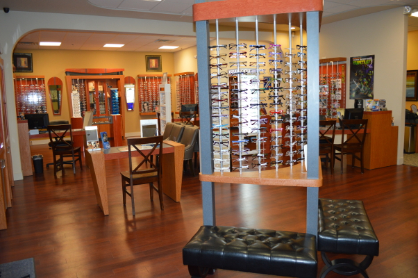 Mansfield Vision Center has the largest selection of sport and designer eyeglass frames in the area.
